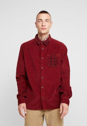 Shirt - burgundy