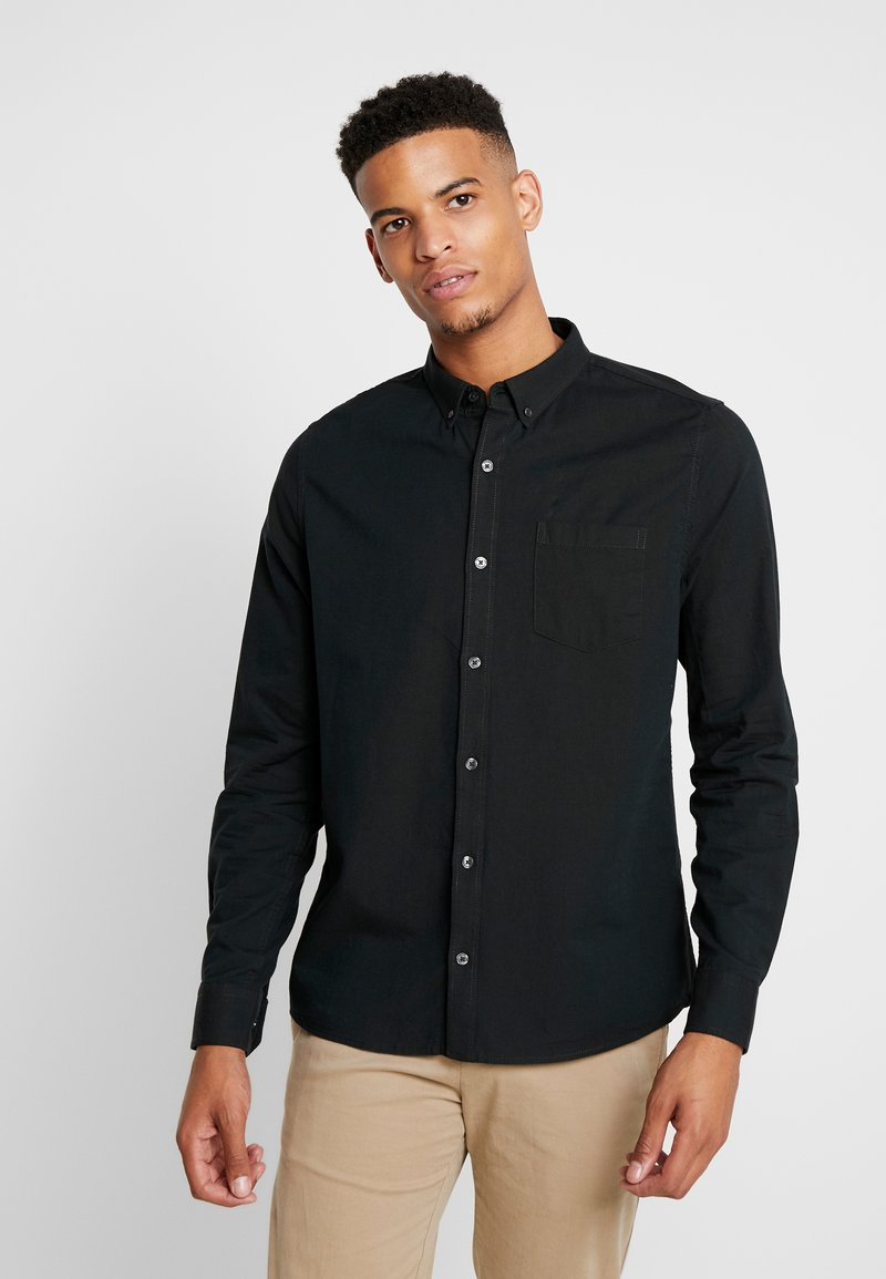 Burton Menswear London - SCARAB OXFORD - Shirt - dark green