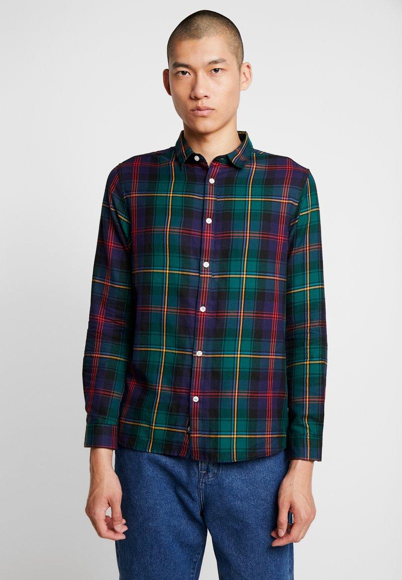 Burton Menswear London - TARTAN - Košile - green