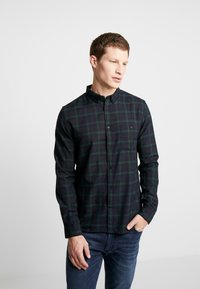 Burton Menswear London - TARTAN MOX - Košile - green - 0
