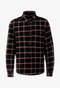 Burton Menswear London - CHECK - Skjorta - black - 3