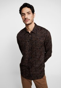Burton Menswear London - BAROQUE - Košile - black - 0