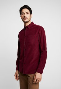 Burton Menswear London - Košile - burgundy - 0