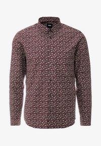 Burton Menswear London - XMAS TREE - Košile - burgundy - 3