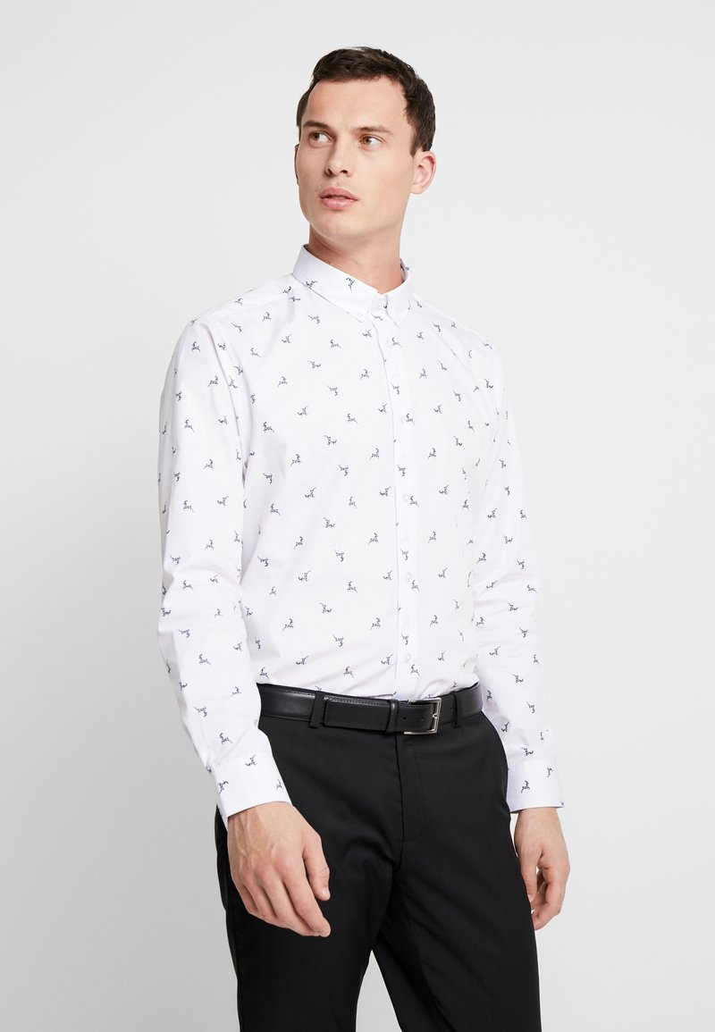 Burton Menswear London - REINDEER - Shirt - white
