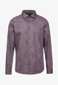 Burton Menswear London - BURGUNDY PAISLEY DESIGN - Košile - burgundy - 4