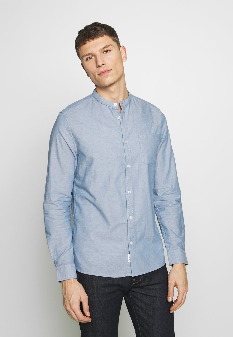 Burton Menswear London - OXFORD PEACHED - Shirt - blue