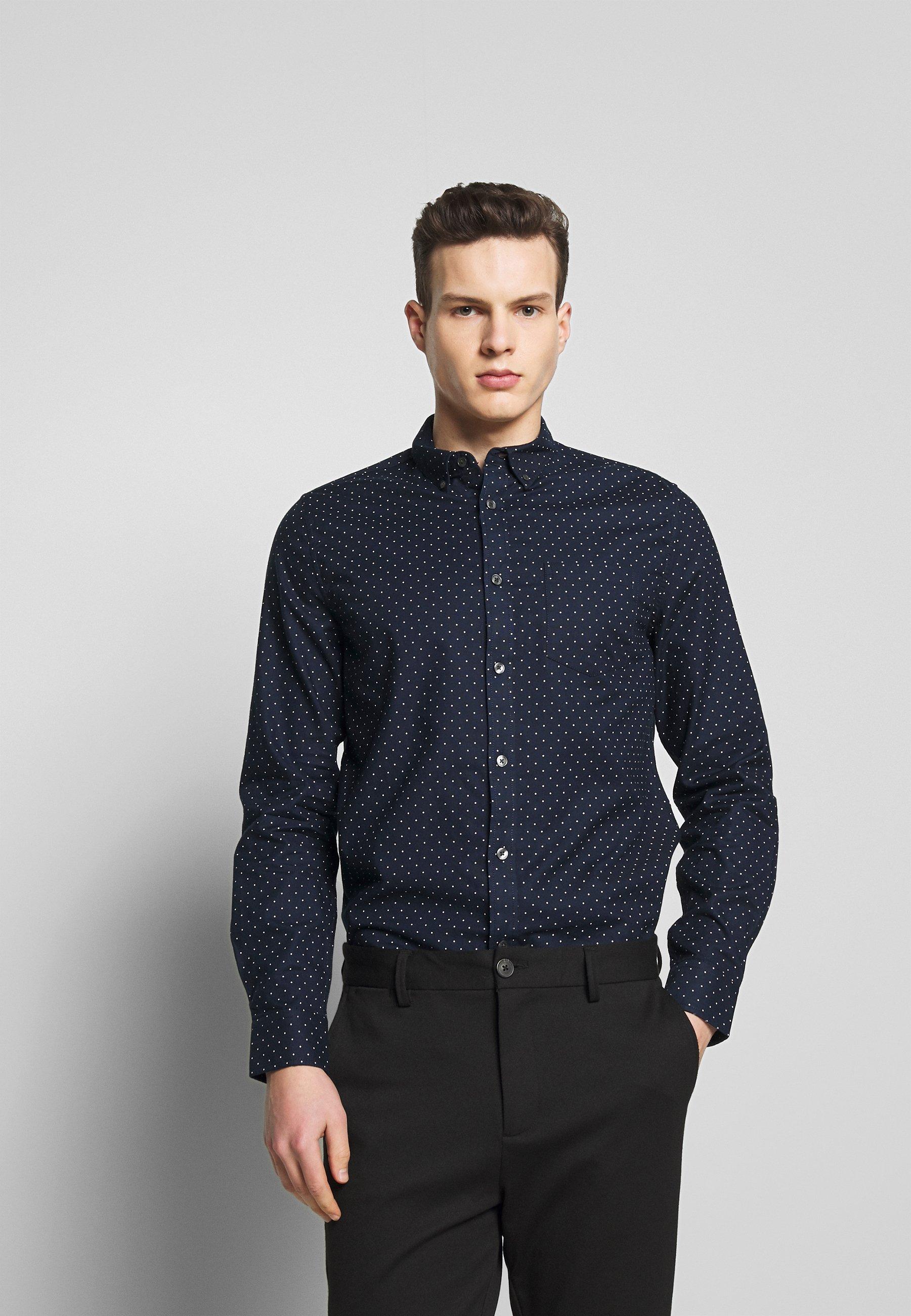Burton Menswear London DOT - Koszula - navy