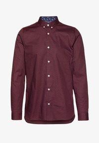 Burton Menswear London - ARIAL - Košile - bordeaux - 5