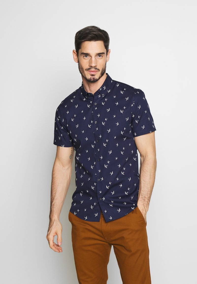Burton Menswear London - BIRD - Skjorte - navy