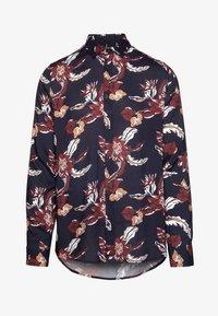 Burton Menswear London - FLORAL - Camisa - navy - 3