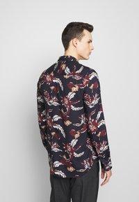 Burton Menswear London - FLORAL - Camisa - navy - 2