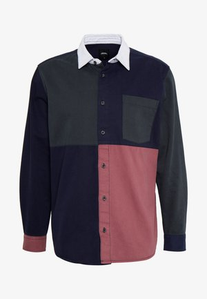 PATCHWORK RUGBY - Shirt - navy