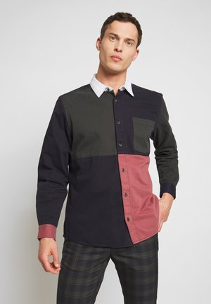 PATCHWORK RUGBY - Chemise - navy