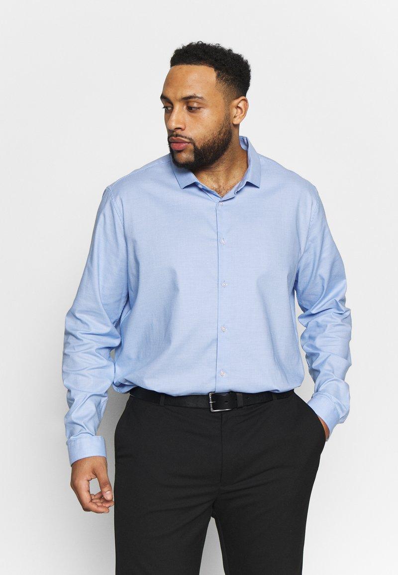 Burton Menswear London - PUPPYTOOTH - Kauluspaita - blue