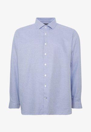 BIG COLOUR DOBBY - Kostymskjorta - blue