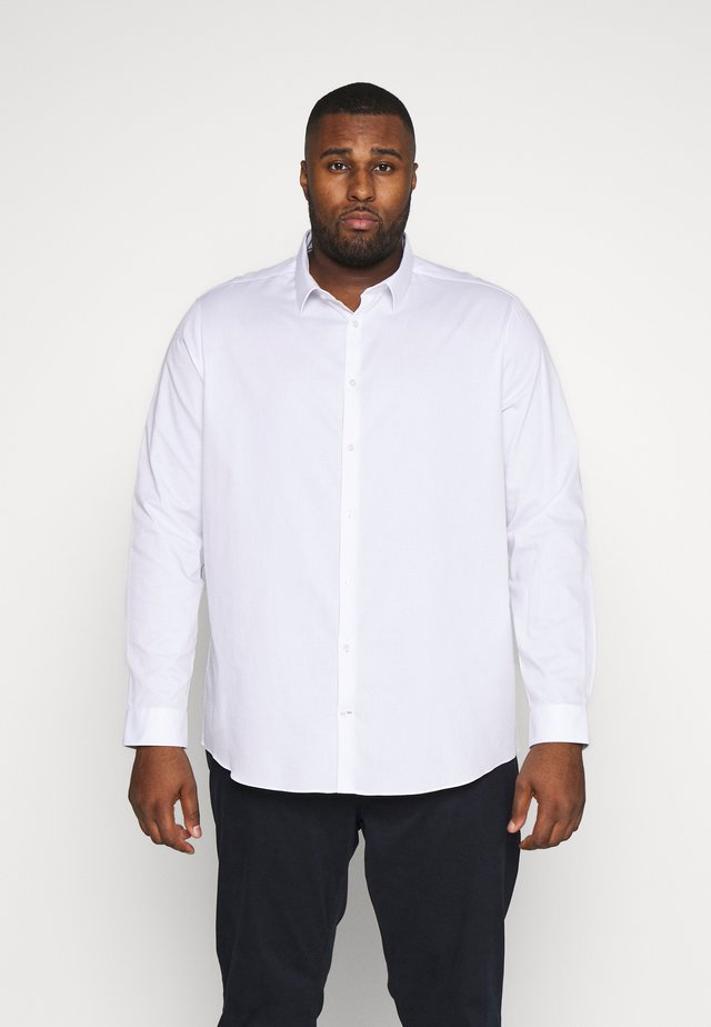 BIG DOBBY STRETCHFOB - Formal shirt - white