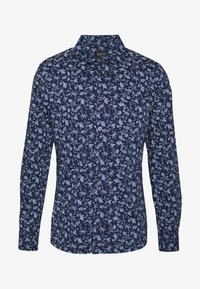 Burton Menswear London - SCATTERED FLORAL - Camicia - navy - 4
