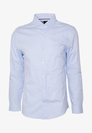 DOBBY LANDED - Shirt - blue