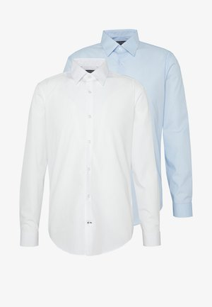 2 PACK FORMAL SHIRT - Košile - blue/white