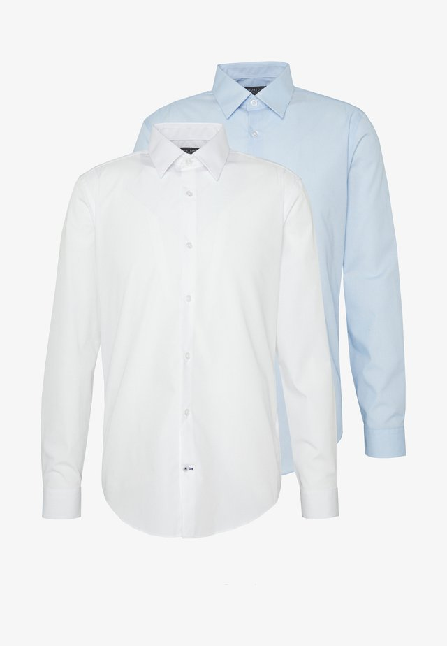 2 PACK FORMAL SHIRT - Skjorta - blue/white
