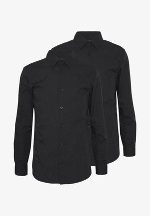 2 PACK FORMAL SHIRT - Formální košile - black