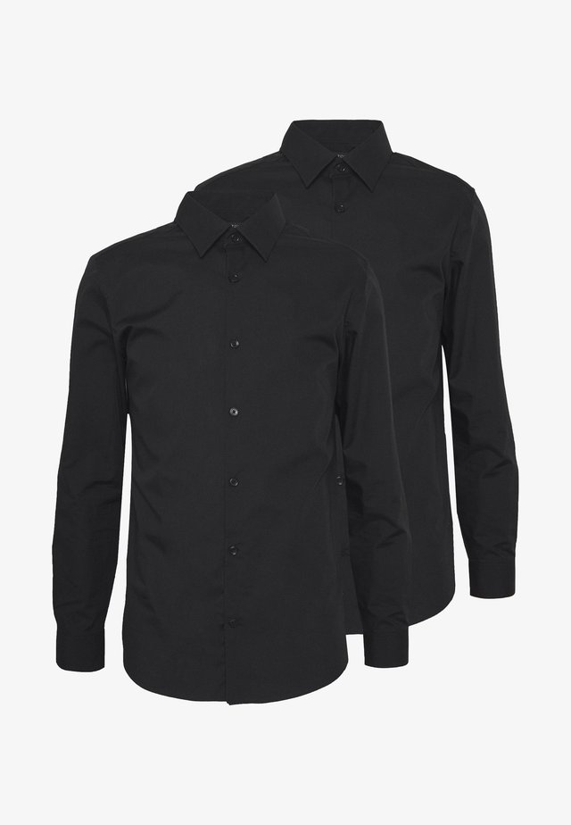 2 PACK FORMAL SHIRT - Formal shirt - black