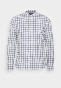 Burton Menswear London - LONG SLEEVE GRANDAD BLEND SHIRT - Koszula - white - 4