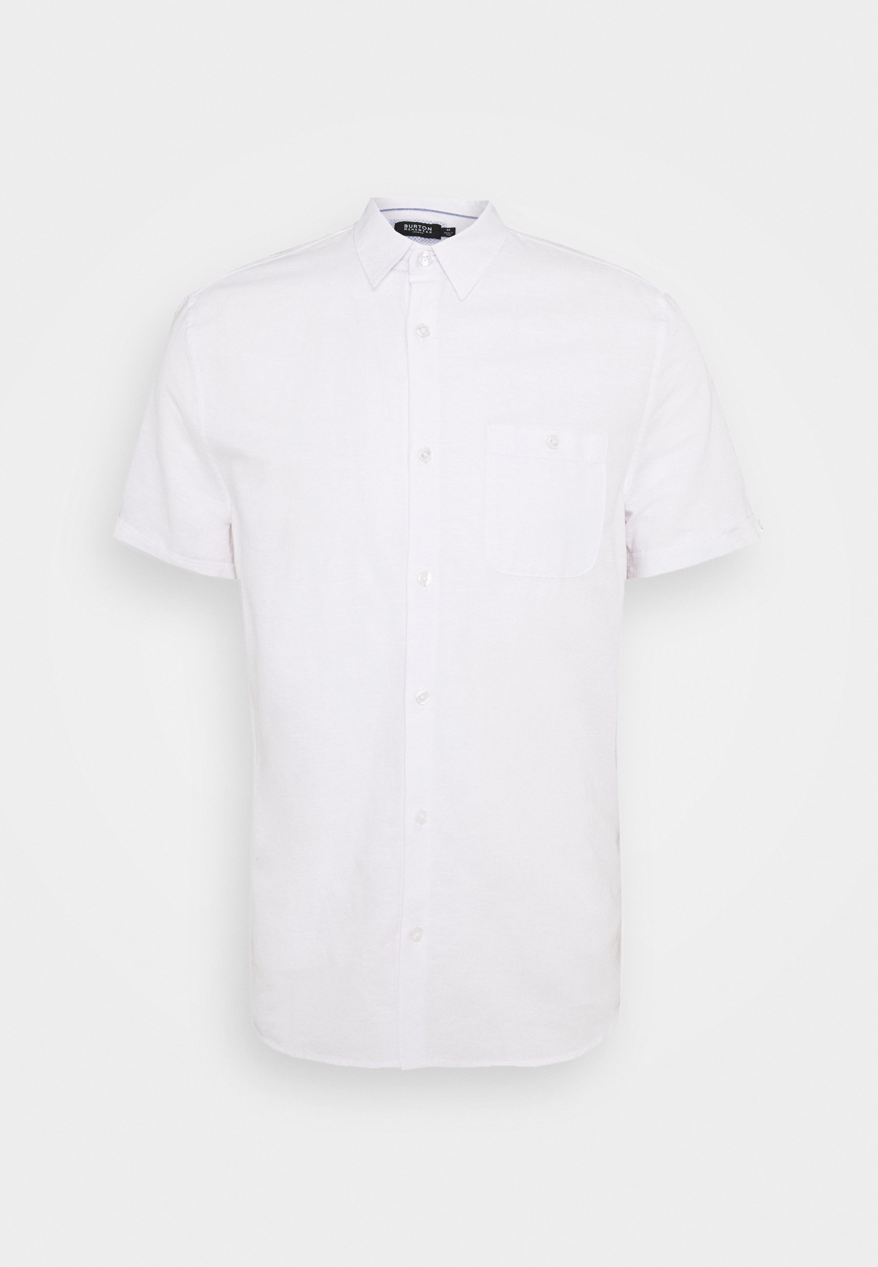 Burton Menswear London SHORT SLEEVE SHIRT - Koszula - lt blue