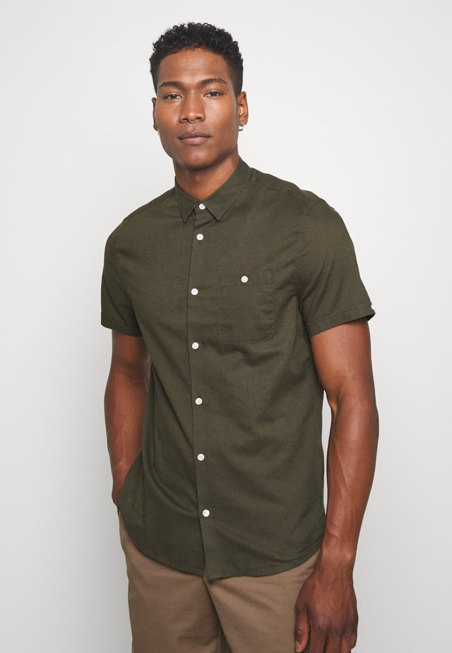 SHORT SLEEVE SHIRT  - Hemd - khaki