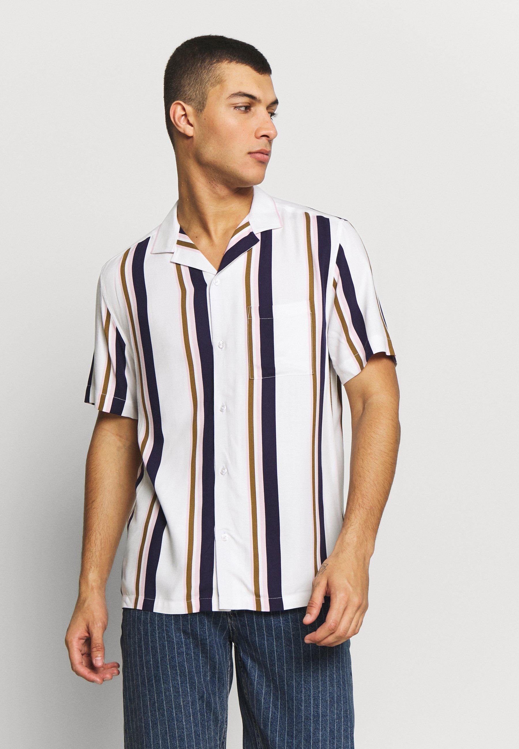Burton Menswear London SHORT SLEEVE - Koszula - white