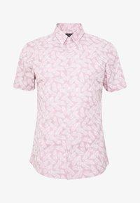 Burton Menswear London - VERDURE  - Vapaa-ajan kauluspaita - pink - 4