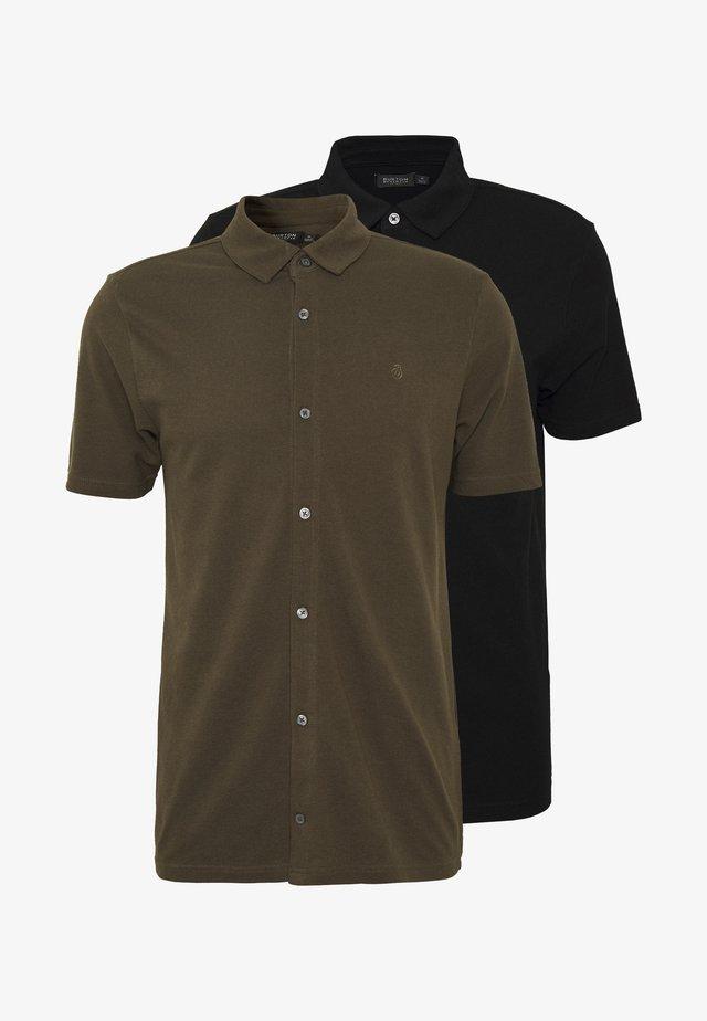 2 PACK  - Koszulka polo - khaki