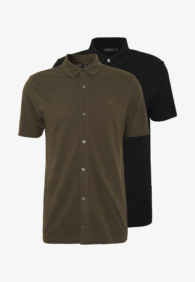Burton Menswear London - 2 PACK  - Polo shirt - khaki