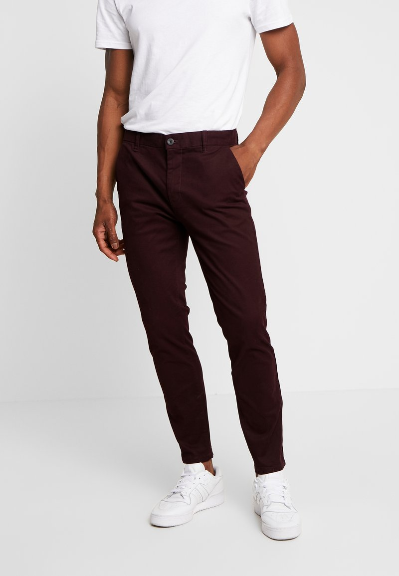 Burton Menswear London - Chino - burgundy