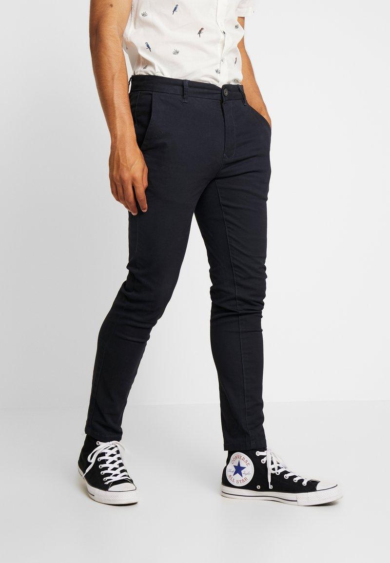 Burton Menswear London - Chino kalhoty - navy