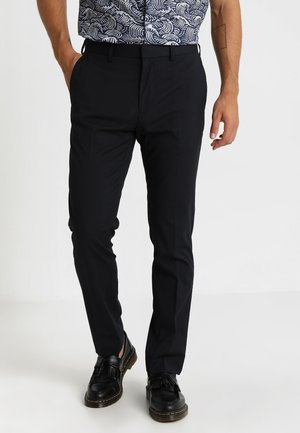 STRETCH TROUSER - Pantalones - navy