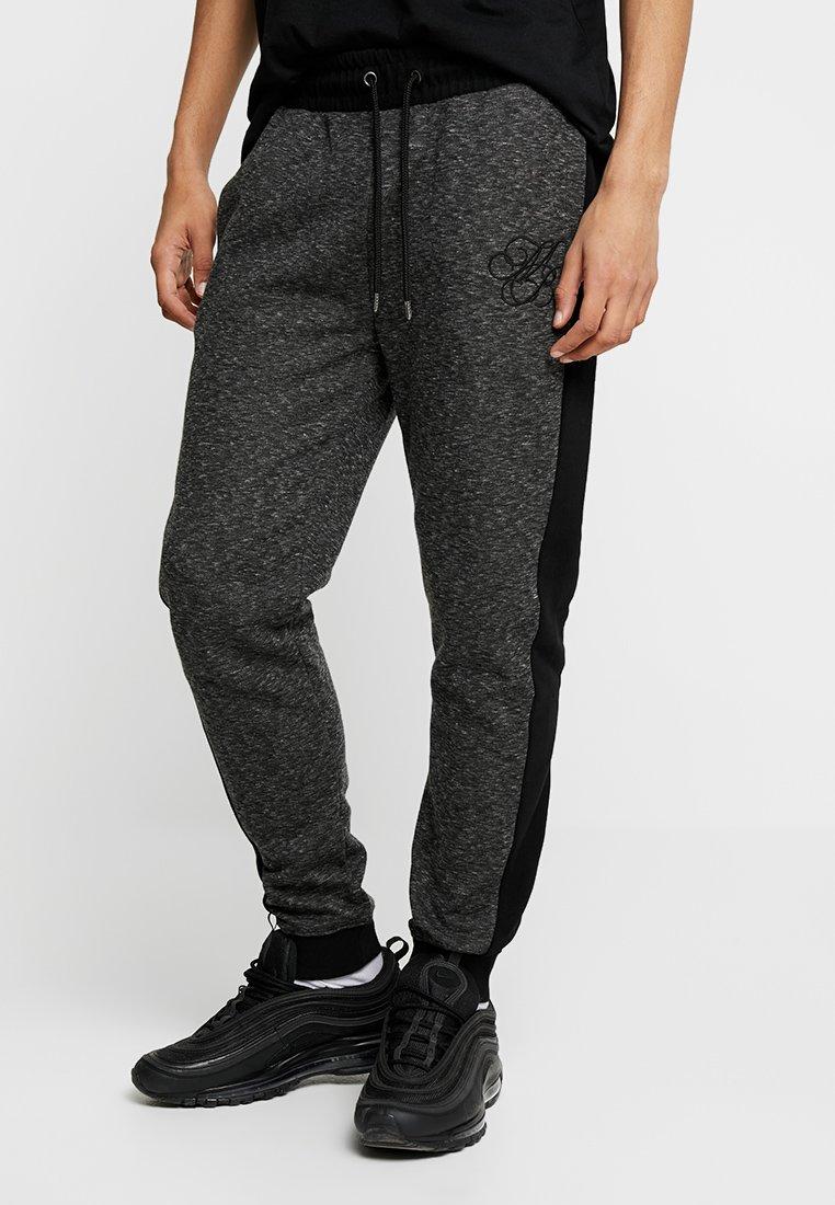 Burton Menswear London - ICON RIB - Tracksuit bottoms - black
