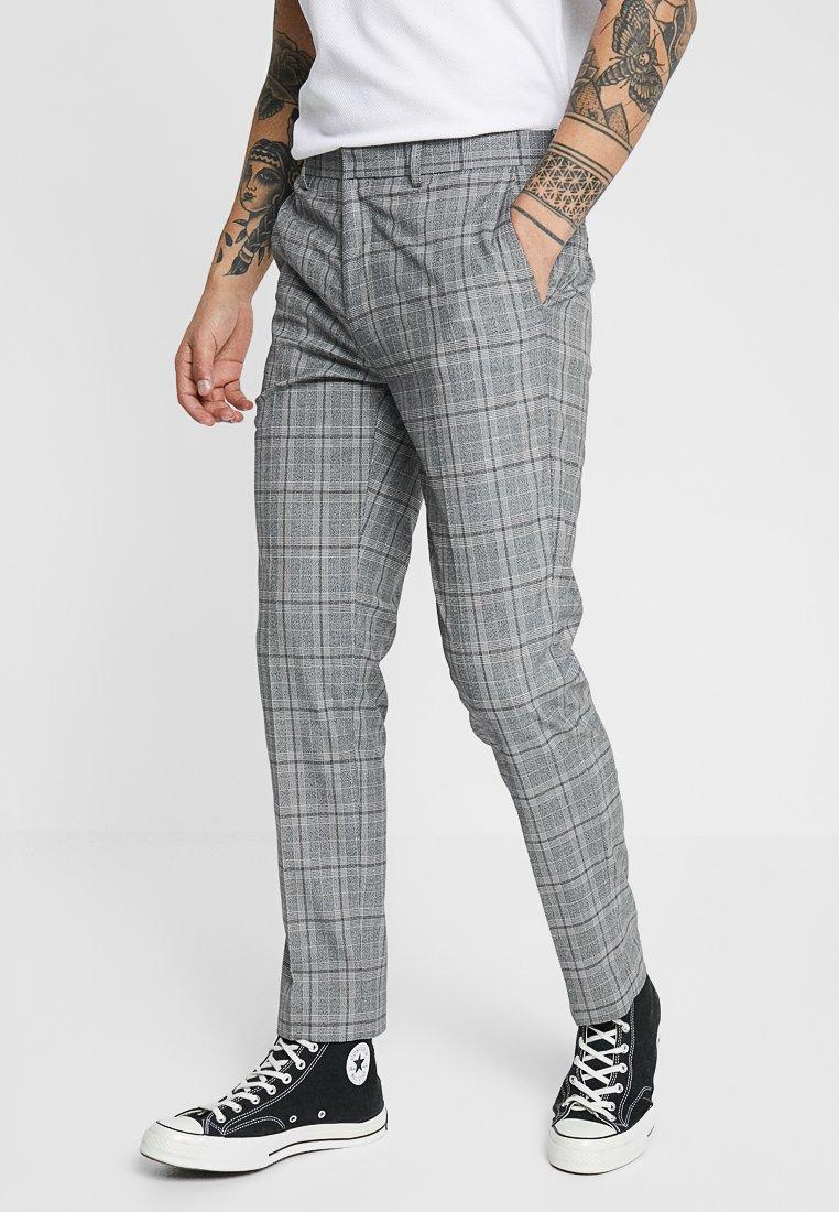 Burton Menswear London - GRINDLE TROUSER - Trousers - mid grey