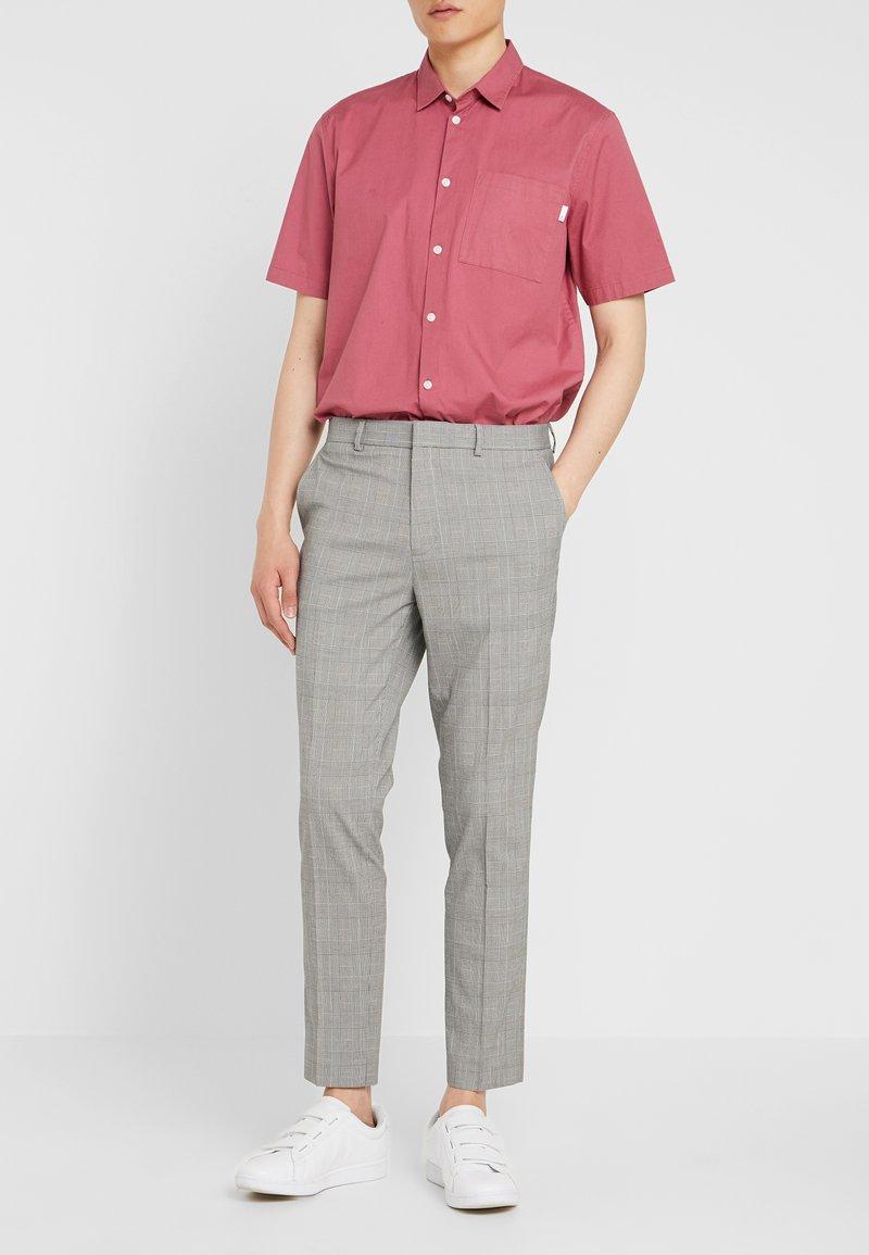 Burton Menswear London - POW CHECK - Trousers - charcoal