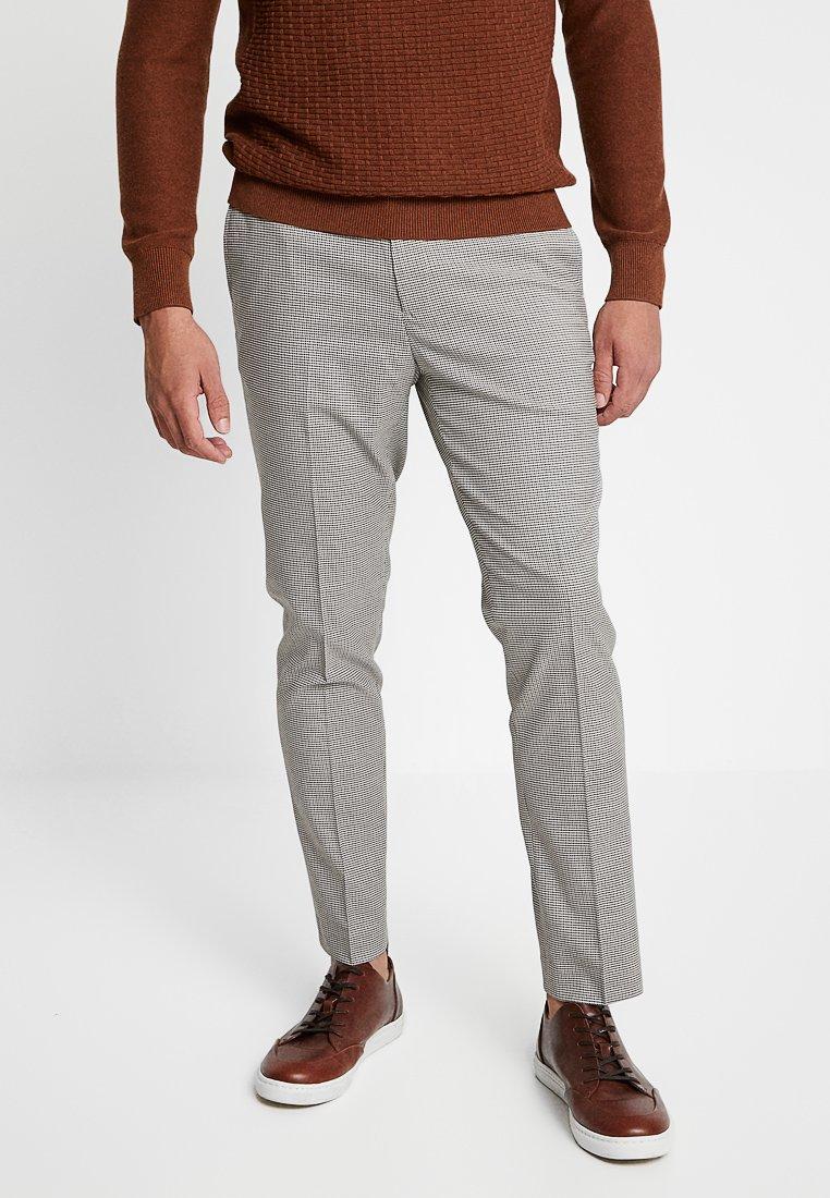 Burton Menswear London - PUPPYTOOTH CHECK - Trousers - camel