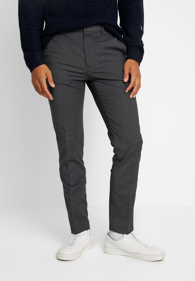 Burton Menswear London - Kangashousut - mid grey