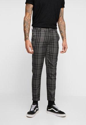 CHECK - Kalhoty - black