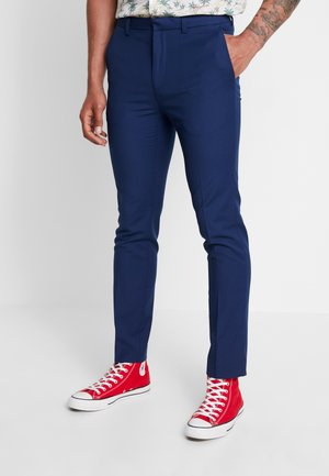 Trousers - cobalt