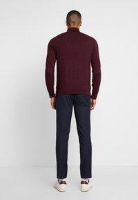 Burton Menswear London - STRETCH  - Jakkesæt bukser - navy - 2