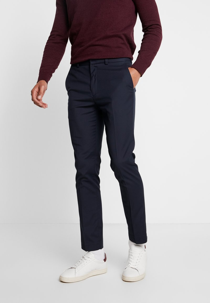 Burton Menswear London - STRETCH  - Pantaloni eleganti - navy