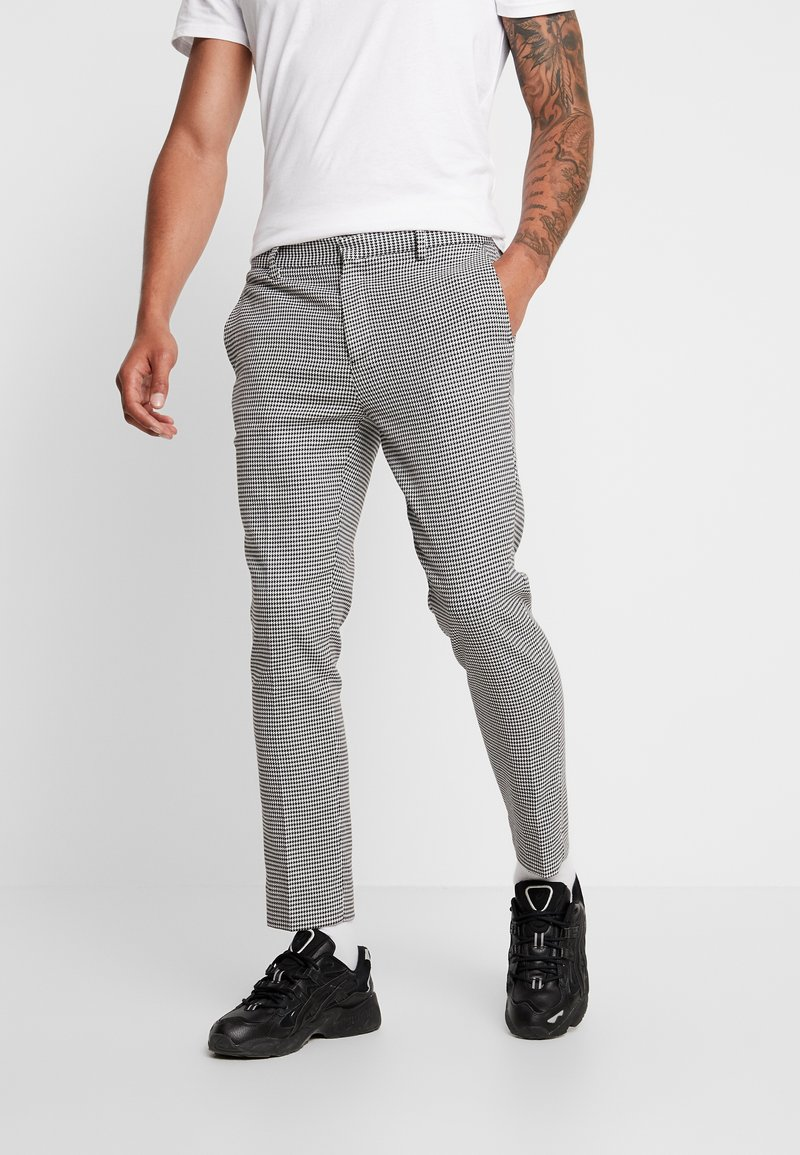 Burton Menswear London - BIG - Stoffhose - black