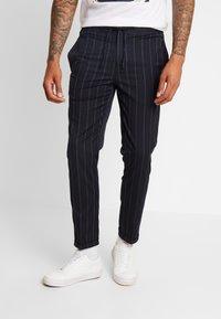 Burton Menswear London - TWIN FASH  - Pantaloni - navy - 0