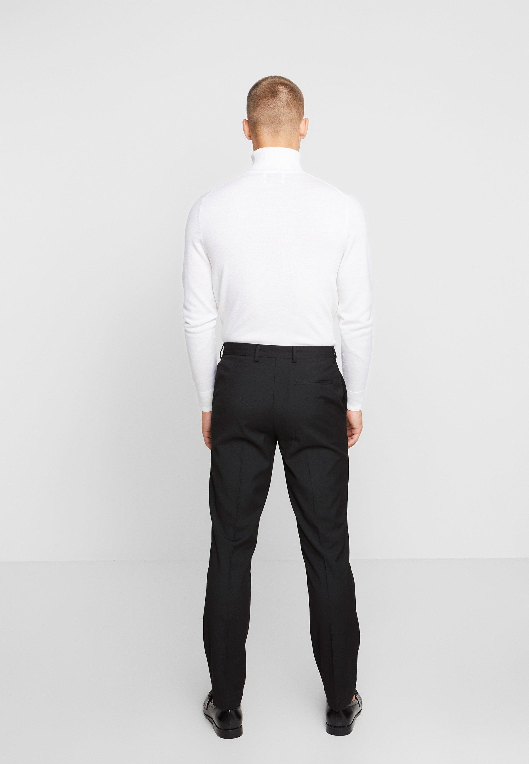 Burton Menswear London 2 PACK - Pantalón de traje - black
