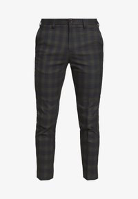 Burton Menswear London - TARTAN - Broek - navy - 4